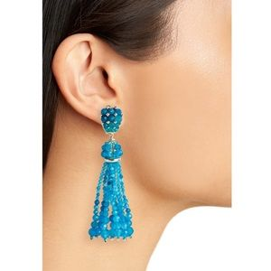 Kendra Scott Cecily Clip Earrings turquoise B267